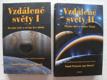 Vzdálené světy 2 svazky: královská planeta a světy Galileovy pohledem astrobiologie. I, Bezedné nebe a oceány bez oblohy II, Plynní obři a ledoví Titáni, Páni a pastýři pstenců, metanové nebe a moře věčné tmy