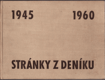 Stránky z deníku : Sborník k 15. výročí osvobození